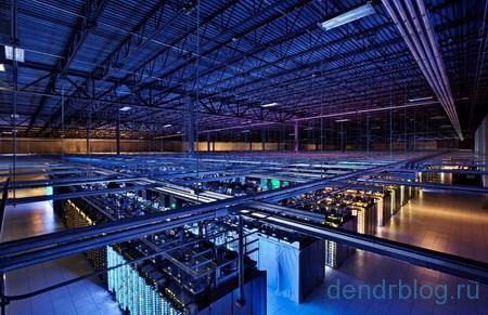 Один из дата-центров Google