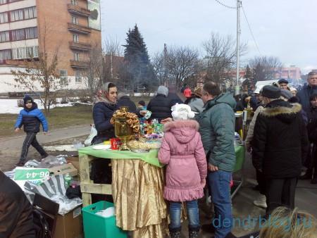 Масленица в Орехово-Зуево 13 марта 2016. Баранки