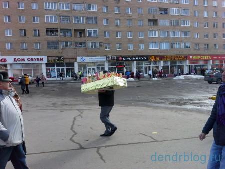 Масленица в Орехово-Зуево 13 марта 2016. Мечта сладкоежки