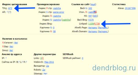 Проверка наличия фильтра агс яндекса с помощью расширения rds bar для браузера