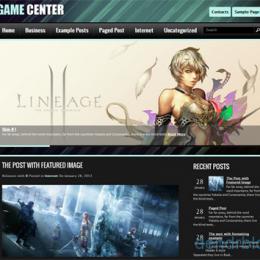 Бесплатные русские темы для wordpress: GameCenter
